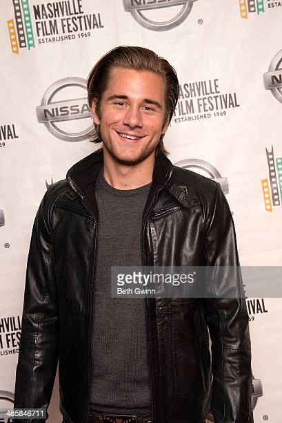 Luke Benward of the movie Field of Lost Shoes attends day 4 of the 2014 Nashville Film Festival at Regal Green Hills on April 20 2014 in Nashville...