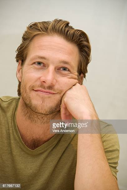 Luke Bracey at the Hacksaw Ridge Press Conference at the Four Seasons Hotel on October 22 2016 in Beverly Hills California