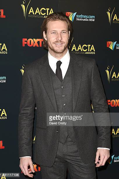 Luke Bracey attends the 6th AACTA International Awards Arrivals at Avalon Hollywood on January 6 2017 in Los Angeles California
