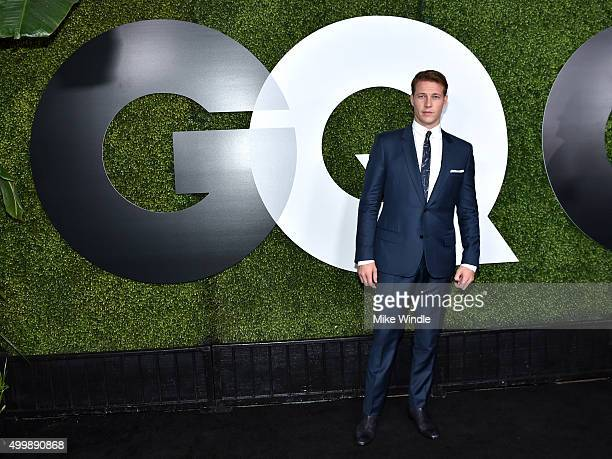 Luke Bracey attends the GQ 20th Anniversary Men Of The Year Party at Chateau Marmont on December 3 2015 in Los Angeles California