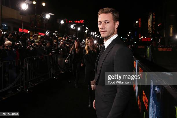 Luke Bracey attends the premiere of Warner Bros Pictures and Alcon Entertainment's Point Break at TCL Chinese Theatre on December 15 2015 in...