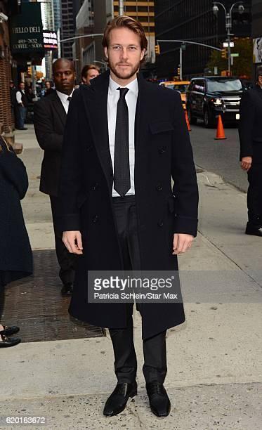Luke Bracey is seen on November 1 2016 in New York City