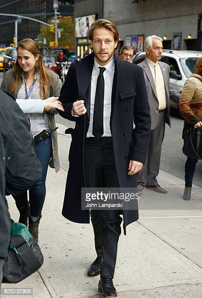 Luke Bracey visits The Late Show With Stephen Colbert at Ed Sullivan Theater on November 1 2016 in New York City