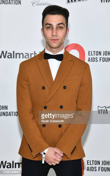 Luke Brandon Field attends the 28th Annual Elton John AIDS Foundation Academy Awards Viewing Party Sponsored By IMDb And Neuro Drinks on February 09,...