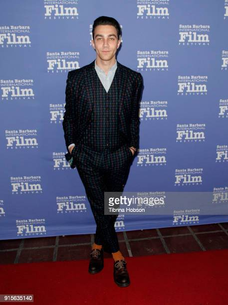 Luke Brandon Field attends the 33rd annual Santa Barbara International Film Festival American Riviera Award presentation at Arlington Theatre on...