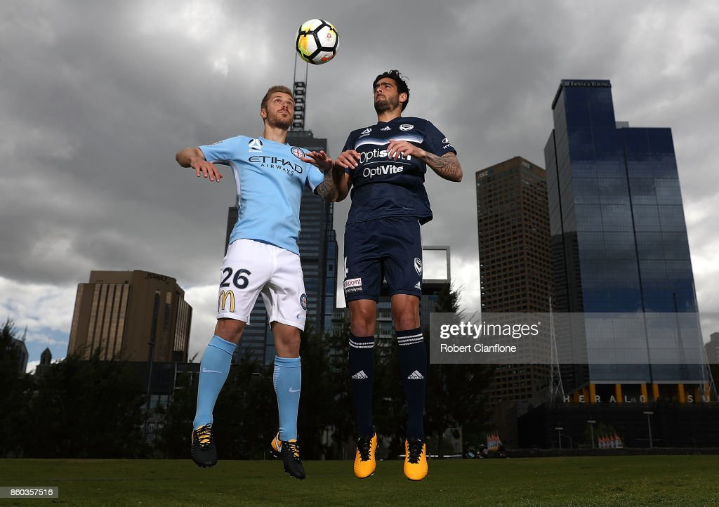 Melbourne A-League Derby Photo Opportunity
