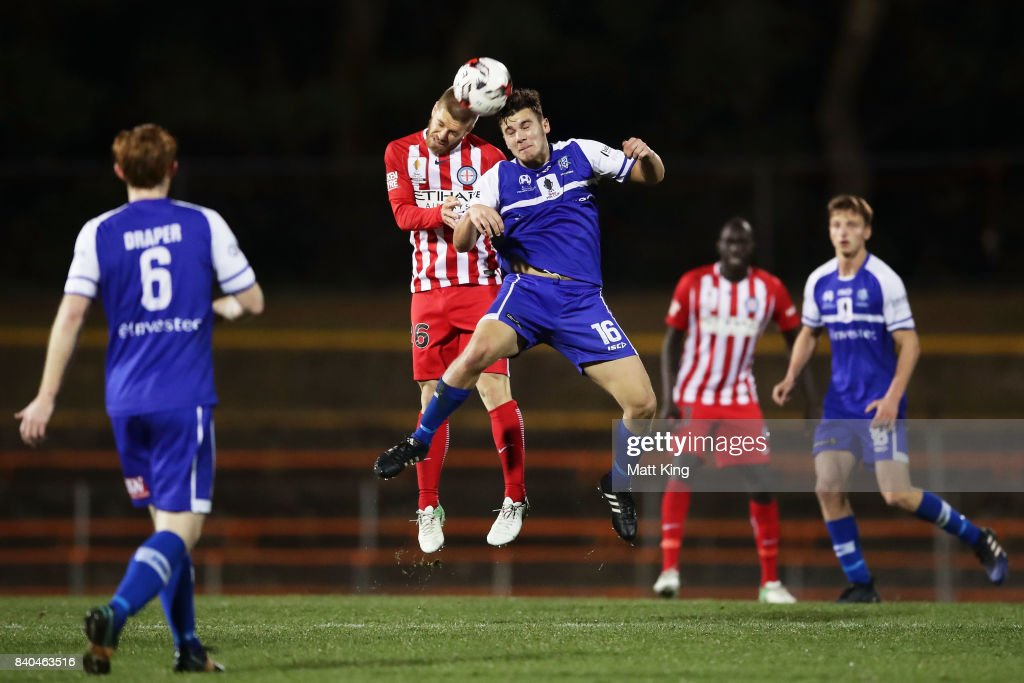 FFA Cup Round of 16 - Hakoah Sydney City East v Melbourne City FC