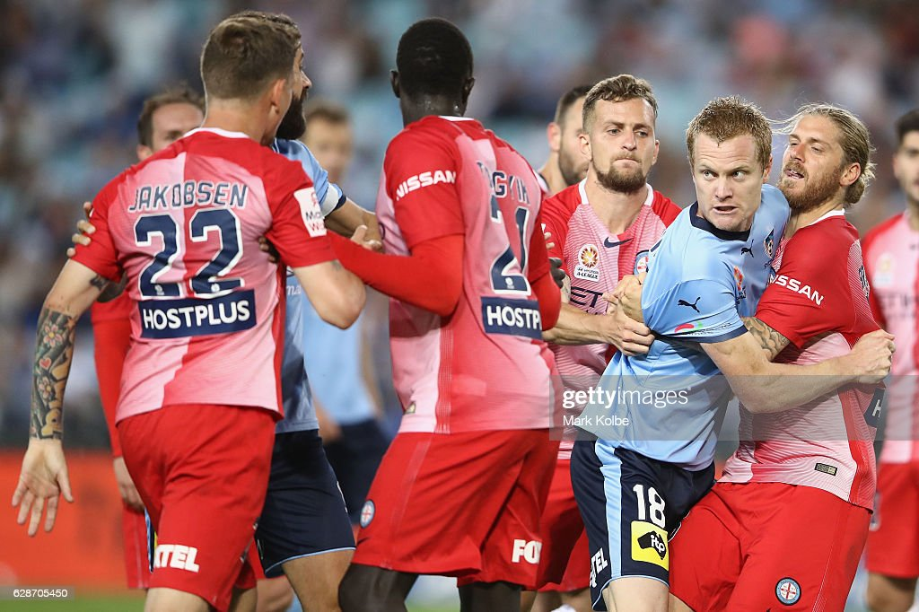 A-League Rd 10 - Sydney v Melbourne City