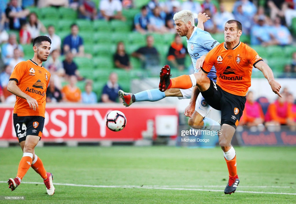 A-League Rd 13 - Melbourne v Brisbane : News Photo