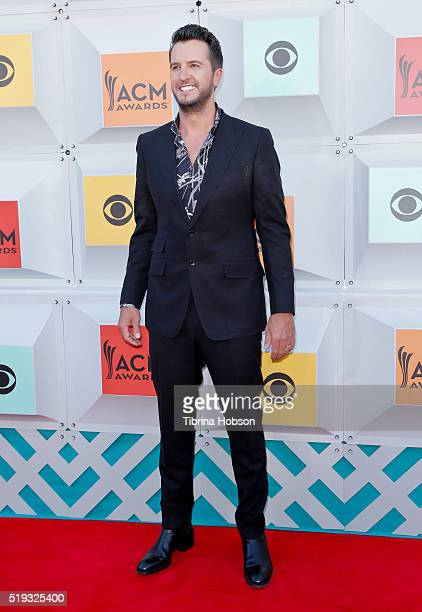 Luke Bryan attends the 51st Academy of Country Music Awards at MGM Grand Garden Arena on April 3 2016 in Las Vegas Nevada