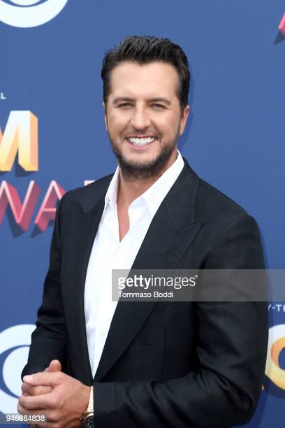 Luke Bryan attends the 53rd Academy of Country Music Awards at MGM Grand Garden Arena on April 15 2018 in Las Vegas Nevada