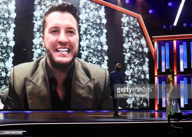 Luke Bryan wins Entertainer of the year at the 56TH ACADEMY OF COUNTRY MUSIC AWARDS. Hosted by Keith Urban and Mickey Guyton, the 56TH ACM AWARDS...