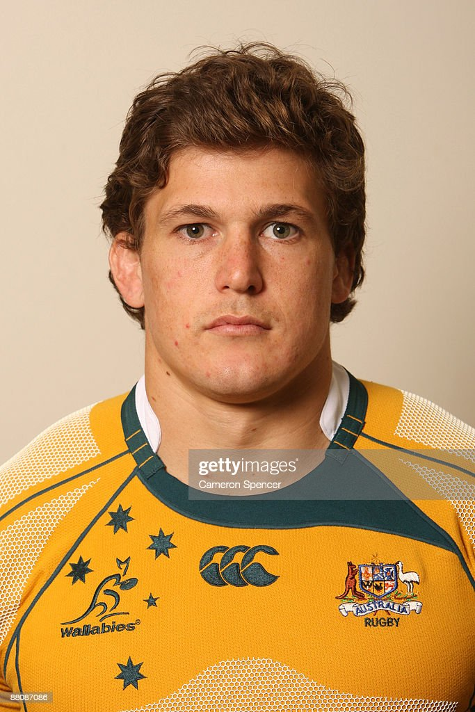 Luke Burgess of the Wallabies poses during the Australian Wallabies squad headshots session at Crown Plaza, Coogee on May 31, 2009 in Sydney, Australia.