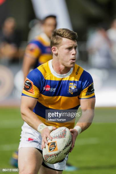 Luke Campbell of Steamers during the Mitre 10 Cup Semi Final match between Bay of Plenty and Otago on October 21 2017 in Tauranga New Zealand