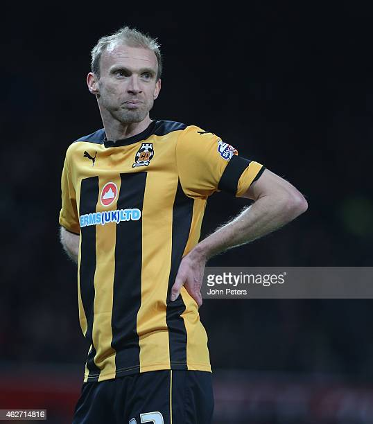 Luke Chadwick of Cambridge United in action during the FA Cup Fourth Round replay between Manchester United and Cambridge United at Old Trafford on...