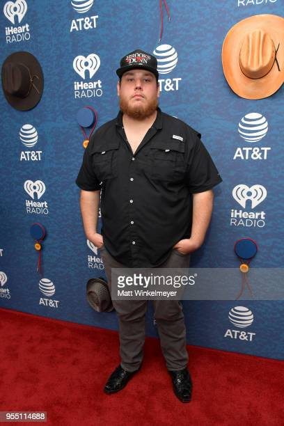 Luke Combs arrives at the 2018 iHeartCountry Festival By ATT at The Frank Erwin Center on May 5 2018 in Austin Texas
