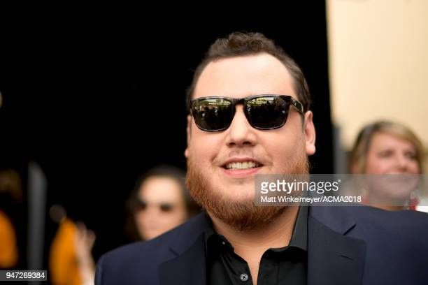 Luke Combs attends the 53rd Academy of Country Music Awards t on April 15 2018 in Las Vegas Nevada