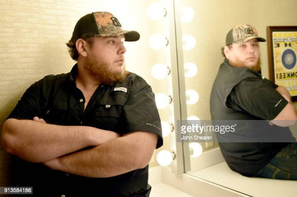 Luke Combs makes his Ryman Auditorium debut on the''Don't Tempt Me With A Good Time Tour' on February 2 2018 in Nashville Tennessee