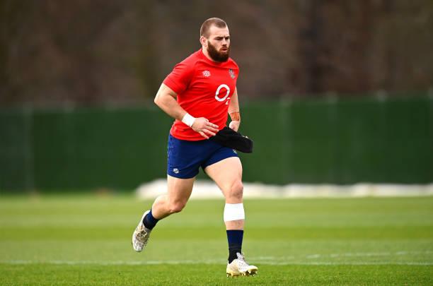 GBR: England Training Session