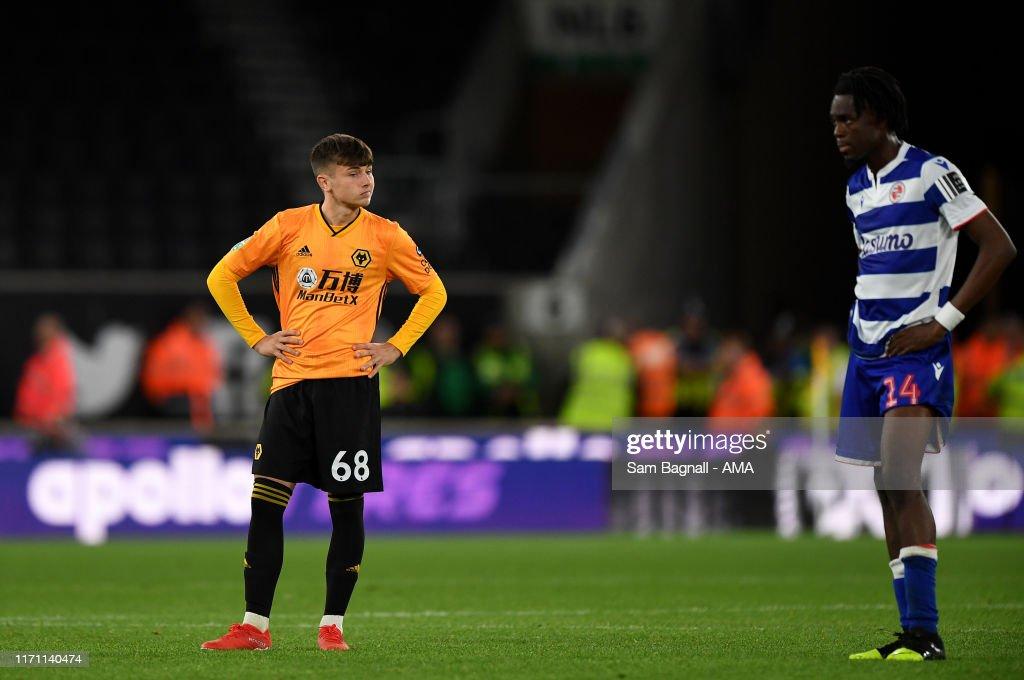 Wolverhampton Wanderers v Reading FC - Carabao Cup Third Round : News Photo