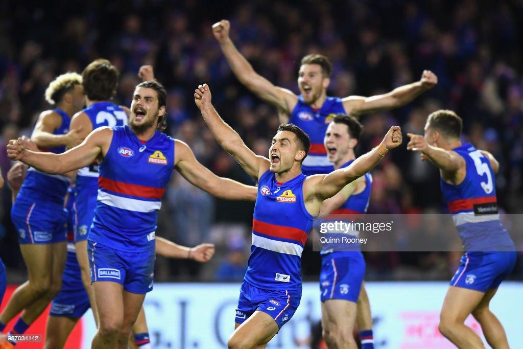 AFL Rd 15 - Western Bulldogs v Geelong