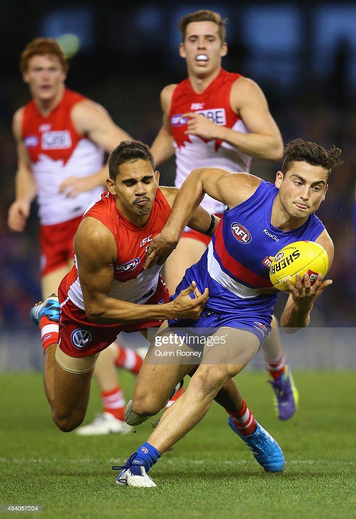 AFL Rd 22 - Western Bulldogs v Sydney