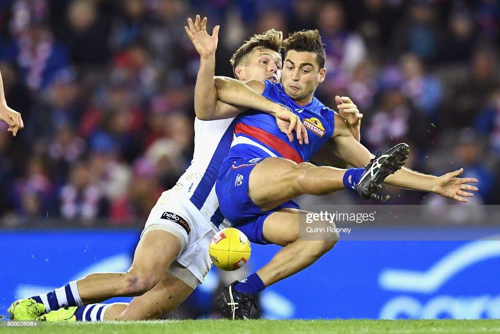 AFL Rd 14 - Western Bulldogs v North Melbourne