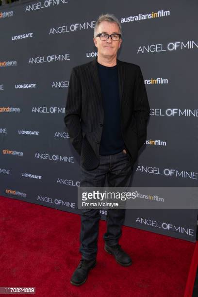 """Luke Davies attends the special screening of Lionsgate's """"Angel of Mine"""" at Raleigh Studios on August 28, 2019 in Los Angeles, California."""