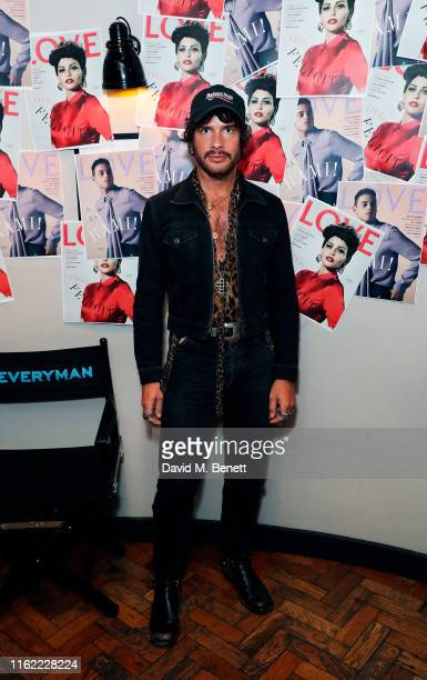 Luke Day attends the #MOVINGLOVE screening hosted by Derek Blasberg Katie Grand at Screen on the Green on July 15 2019 in London England