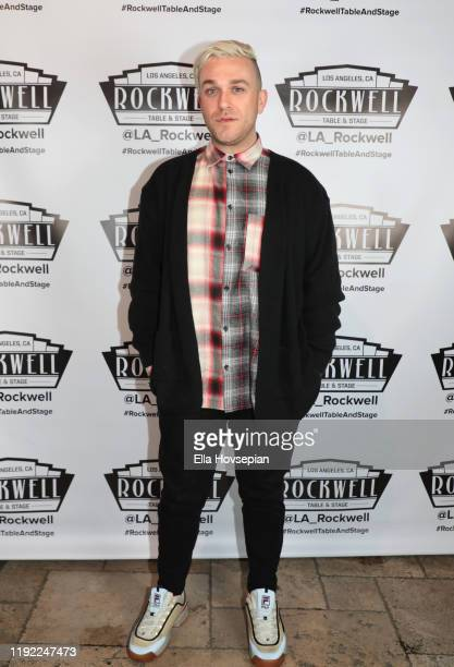 Luke Edgemon attends A Molly Jolly Christmas at Rockwell Table and Stage on December 05 2019 in Los Angeles California