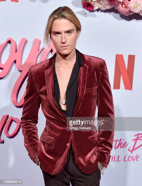Luke Eisner attends the Premiere Of Netflix's To All The Boys PS I Still Love You at the Egyptian Theatre on February 03 2020 in Hollywood California