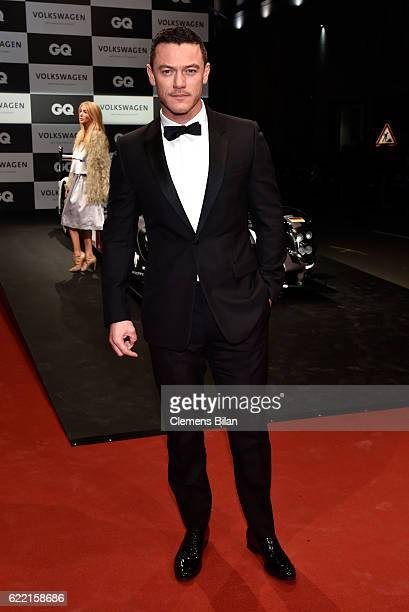Luke Evans arrives at the GQ Men of the year Award 2016 at Komische Oper on November 10 2016 in Berlin Germany