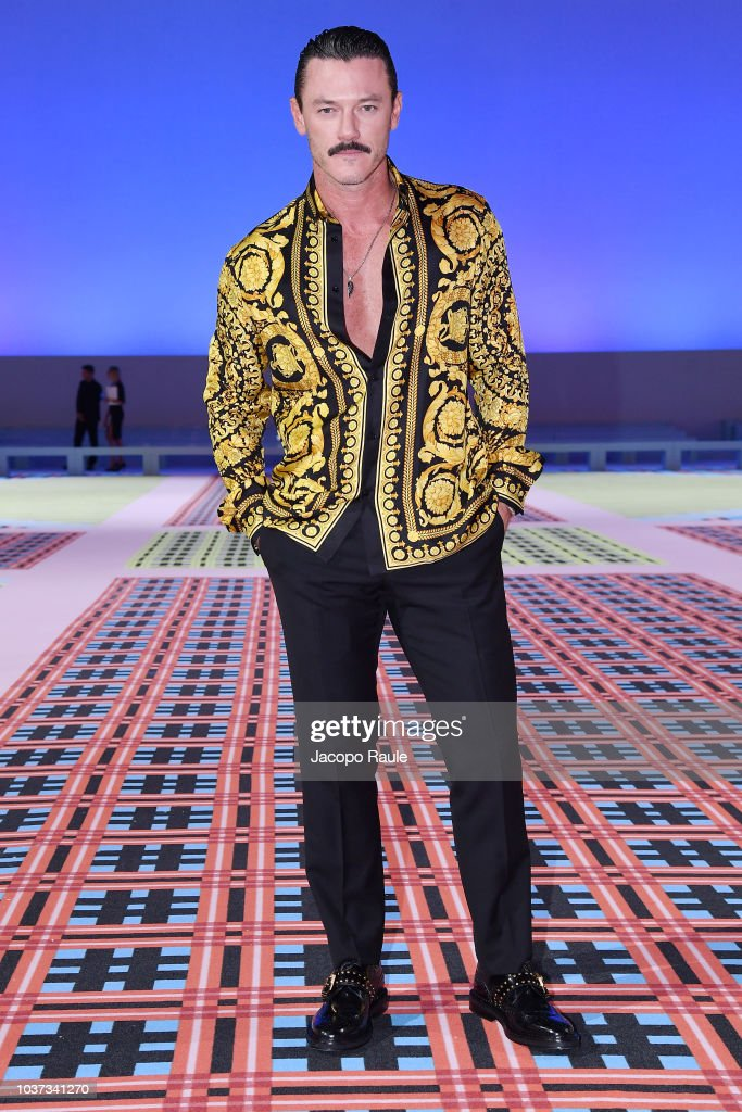 Versace - Front Row - Milan Fashion Week Spring/Summer 2019