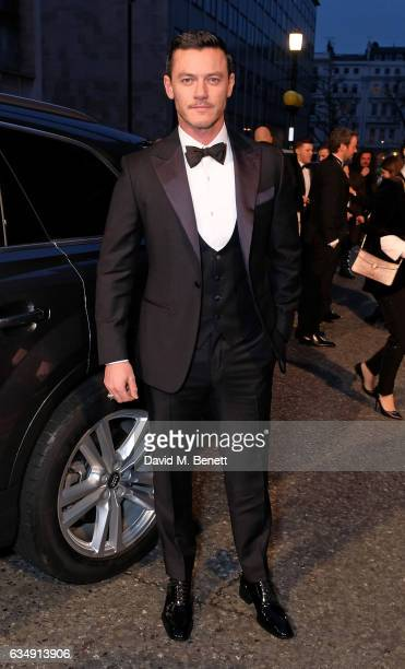 Luke Evans arrives in an Audi at the EE BAFTA Film Awards at the at Royal Albert Hall on February 12 2017 in London England