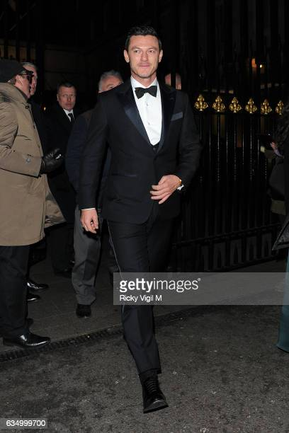 Luke Evans arriving at EE BAFTA British Academy Film Awards Dinner and After Party held at Grosvenor House on February 12 2017 in London England