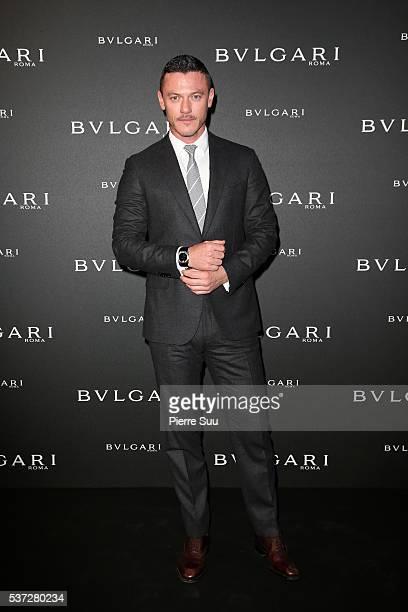 Luke Evans attends a BVLGARI press dinner during a fourday BVLGARI Brand Event on June 1 2016 in Monaco Monaco