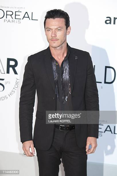 Luke Evans attends amfAR's Cinema Against AIDS Gala during the 64th Annual Cannes Film Festival at Hotel Du Cap on May 19 2011 in Antibes France