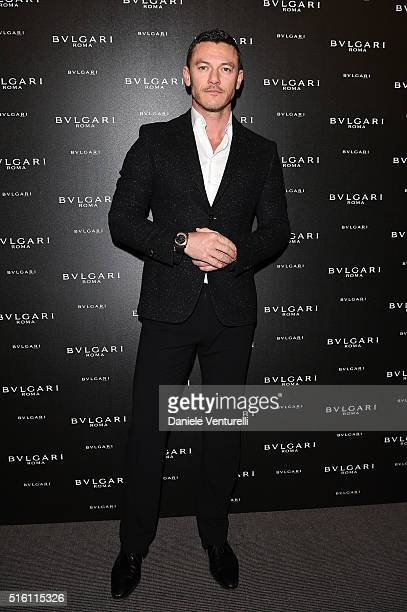 Luke Evans attends Bvlgari Press Breakfast at Baselworld 2016 on March 17 2016 in Basel Switzerland
