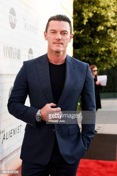 Luke Evans attends Emmy For Your Consideration Red Carpet Event For TNT's The Alienist Red Carpet at Wallis Annenberg Center for the Performing Arts...