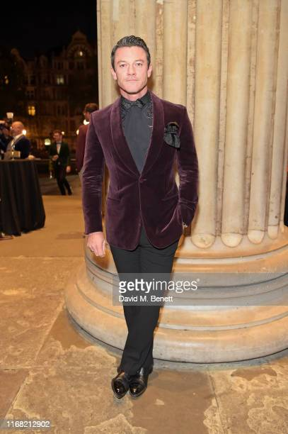 Luke Evans attends Fashion For Relief London 2019 at The British Museum on September 14 2019 in London England