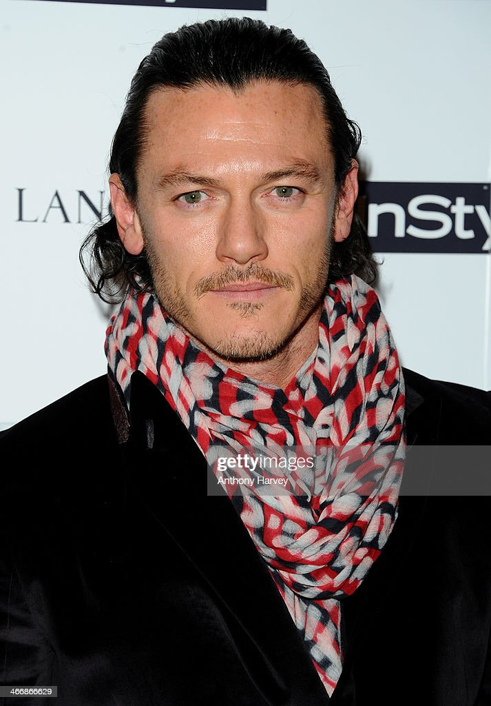 Luke Evans attends InStyle magazine's The Best of British Talent pre-BAFTA party at Dartmouth House on February 4, 2014 in London, England.