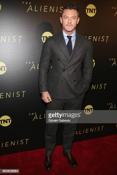 Luke Evans attends New York Premiere of TNT's 'The Alienist' on January 16 2018 in New York City