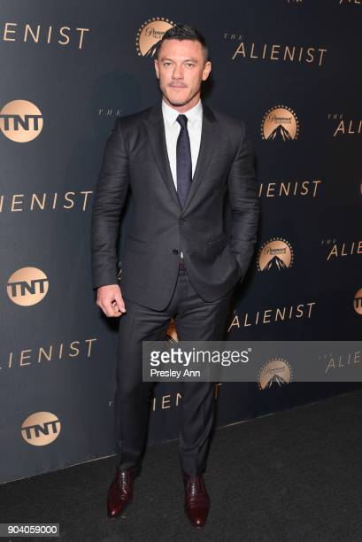Luke Evans attends Premiere Of TNT's The Alienist Arrivals on January 11 2018 in Los Angeles California