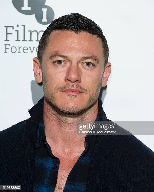 Luke Evans attends preview Screening of 'High Rise' at BFI Southbank on March 14 2016 in London England