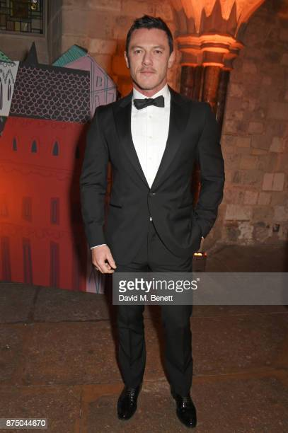 Luke Evans attends Save The Children's Magical Winter Gala celebrating the 20th anniversary since the publication of the first of JK Rowling's Harry...