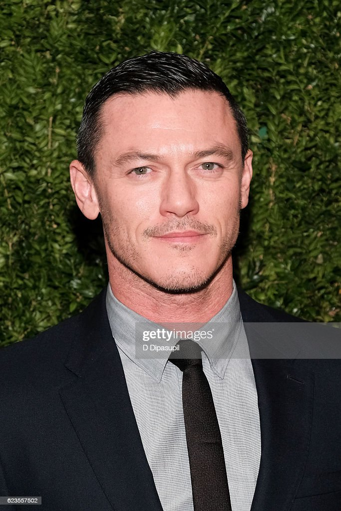 Luke Evans attends the 2016 Museum of Modern Art Film Benefit presented by Chanel - A Tribute to Tom Hanks at Museum of Modern Art on November 15, 2016 in New York City.
