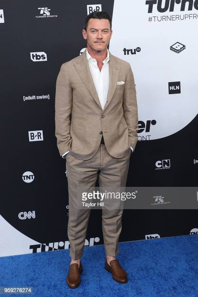 Luke Evans attends the 2018 Turner Upfront at One Penn Plaza on May 16 2018 in New York City