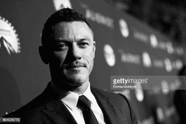 Luke Evans attends The Alienist - LA Premiere Event at Paramount Studios on January 11, 2018 in Hollywood, California. 26144_017