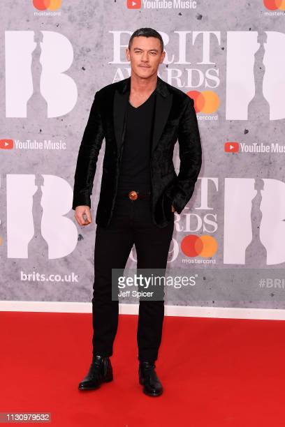 Luke Evans attends The BRIT Awards 2019 held at The O2 Arena on February 20 2019 in London England