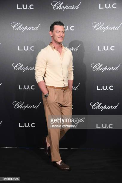 Luke Evans attends the Chopard Gentleman's Night during the 71st annual Cannes Film Festival at Martinez Hotel on May 9 2018 in Cannes France